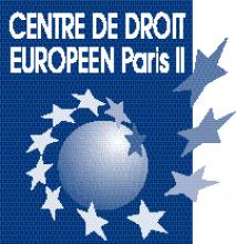 logo centre droit europeen Paris 2